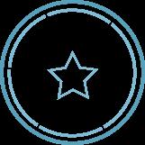 L'étoile de l'excellence des pratiques de conseil en entreprise.
